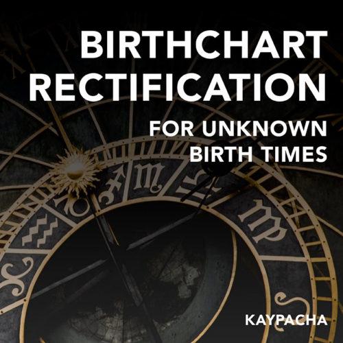 Birthchart Rectification Unknown Birth Times