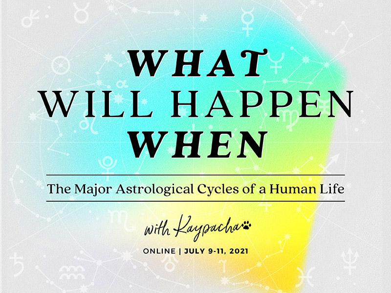 What Will Happen When Astrology Workshop